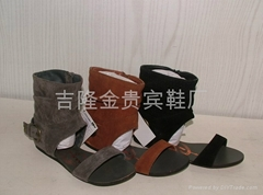 新款时尚凉鞋,广州凉鞋,凉鞋批发,罗马凉鞋,沙滩凉鞋