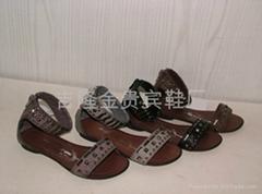 新款時尚涼鞋,外銷涼鞋,廣州涼鞋,沙灘拖鞋,羅馬涼鞋
