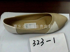 Pointed flat shoes,Foreign trade flat shoes,Asakuchi flat shoes