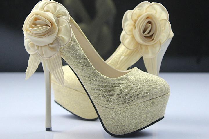 2014 NEW women's autumn shoes single shoes platform thin heels
