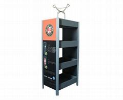 Display stand & tennis ball rack