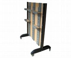 Shoe rack & shoe shelf & shoe display fixture
