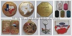 徽章,胸章,匙扣,工号牌,领带夹,书签,纪念币,马口铁,服饰