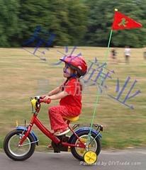 自行车旗杆