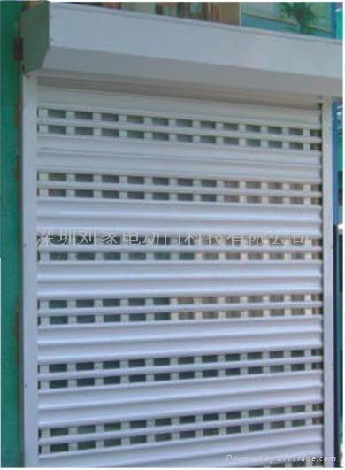 深圳豪華鋁合金扣板卷閘門 2