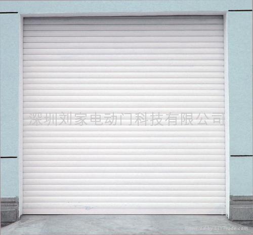 深圳豪華鋁合金扣板卷閘門 4