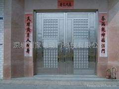 深圳豪华不锈钢防盗门