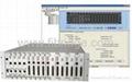E1/V.35 or RS232/RS485 Fiber Modem