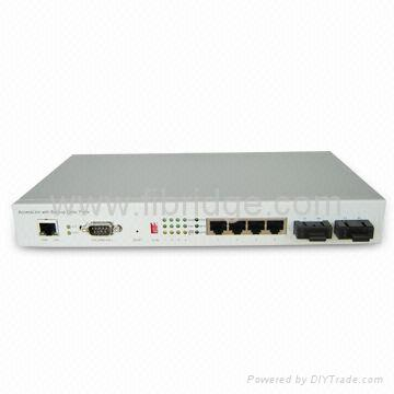 1+1 Optical Port Ethernet Switch