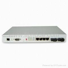1+1 Optical Port Ethernet Switch