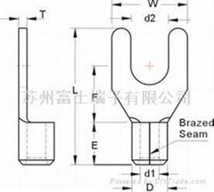 叉形端子-冷压端子
