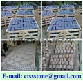 Granite paving stone cobblestone