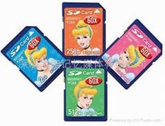 供应SD闪存卡(128MB--16GB)