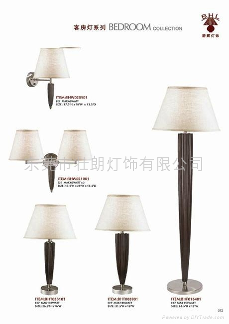 2012 Hotel and Room Lamps and Lightings in Bedroom collection 2