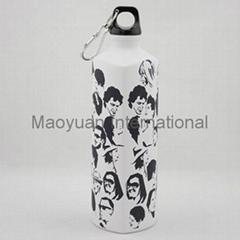 750ml Triangle Aluminum Sports Water Bottle (Item No. 10756)
