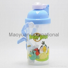 350ml Kids BPA Free Water Bottle with Straw Lid (Item No. 21018)