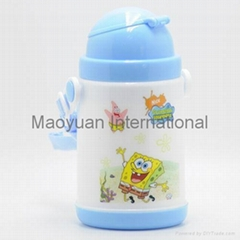 250ml Double Wall Kids Plastic Thermo Water Bottle (Item No. 21020)