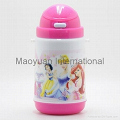 350ml Double Wall Kids Plastic Thermo Water Bottle (Item No. 21021)