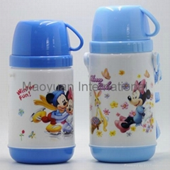 Double Wall Plastic School Thermo Water Bottle (Item No. 21023/21024)