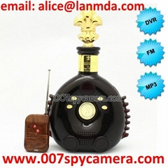 Winebottle Speaker Creative Hidden Camera LM-WC1146