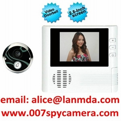 Digital Door Peephole Viewer For Home Security LM-VDP738