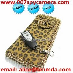 Lady Spy Bag Camera, Women Handbag Hidden Camera Video Recorder DVR LM-BC1145