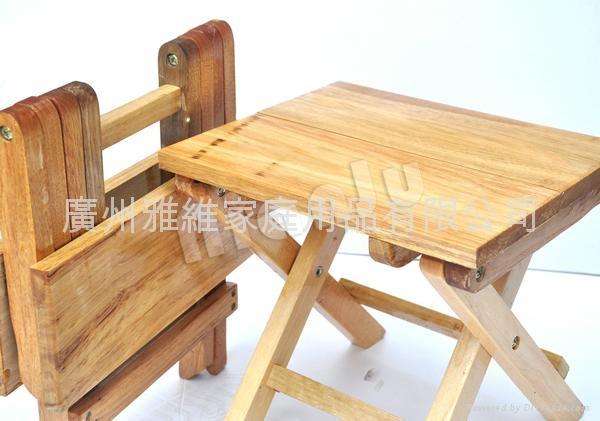 实木折叠椅子桌子凳子