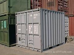 10'ft mini cargo container