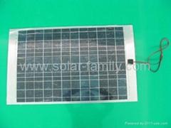 50W/12V Poly-crystalline Flexible Solar Panel