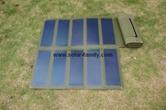 30W/15V Amorphous Foldable Solar Panel