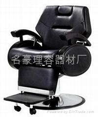 理发椅,男士理发椅,豪华油压椅,按摩理发椅