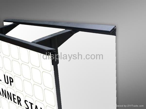 outdoor double printing roll up stand 3