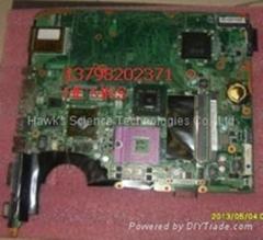 DAUT3DMB8BO LAPTOP Motherboard,HP DV7 PM45 DDR2 Motherboard