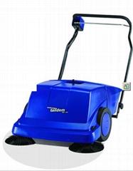 奧林匹斯手推式雙刷電瓶掃地車KSE900,掃地車