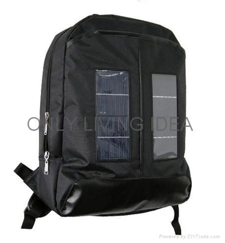 Outdoor Solar Charger Backpack 1