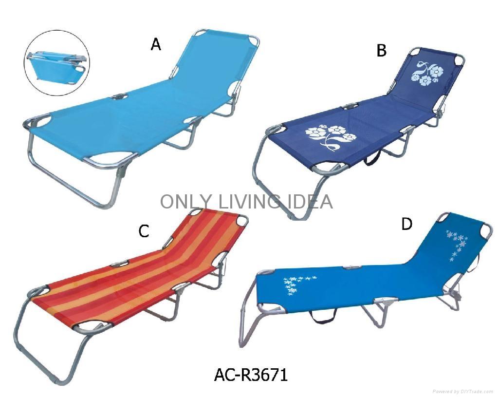 Folding Beach Bed 1