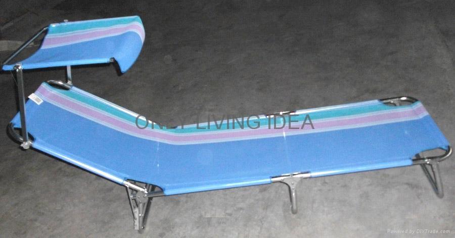 Folding Beach Bed 2