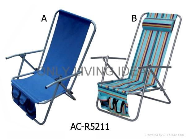 Folding Beach Chair 2