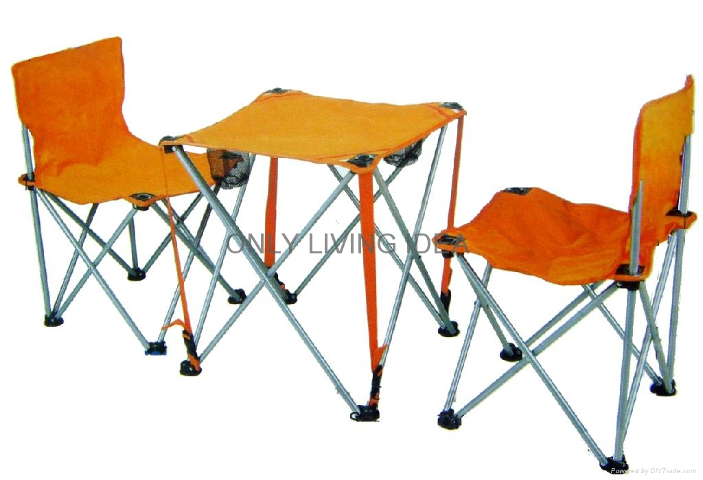 Camping Chair Set 2