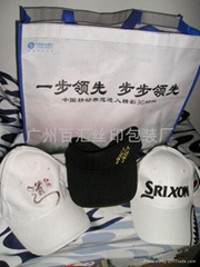 购物袋及帽子