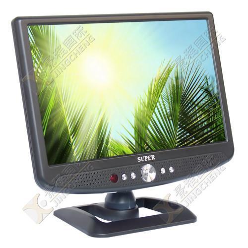 10.2寸车载液晶电视带AV输入 1