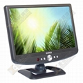 10.2 inch car lcd tv with AV in
