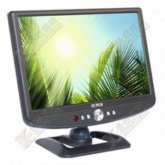 10.2 inch car lcd tv with AV in