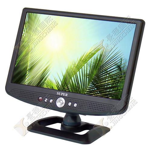 10.2寸车载液晶电视带AV输入 2