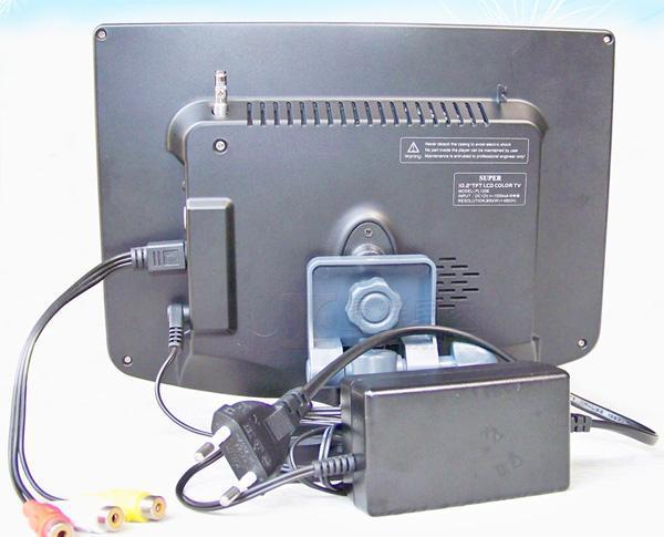 10.2寸车载液晶电视带AV输入 5