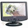 7寸多功能车载液晶电视带AV输