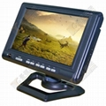 7 inch tft-lcd monitor with 3 AV in