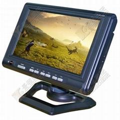 7 寸3路AV輸入工控液晶顯示器