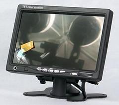 7寸支架式車載液晶顯示器 705