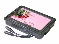 7寸車載液晶顯示器/VGA電腦接口